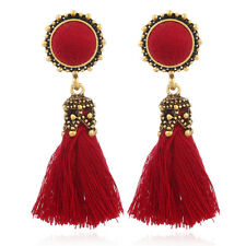 Fashion Bohemian Earring Women Vintage Long Tassel Fringe Boho Dangle Earrings