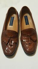 Georgio Brutuni brown loafer slip on shoes size 9.5