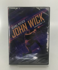 John Wick 3-Movie Collection Trilogy Chapter 1-3 Dvd Brand New Keanu Reeves