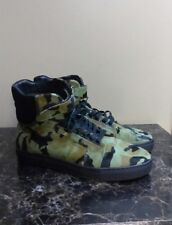 Men's AH810119 Android Homme Black High-Top Sneakers - Size 9 Lace up