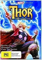 Thor: Tales Of Asgard * NEW DVD * (Region 4 Australia)