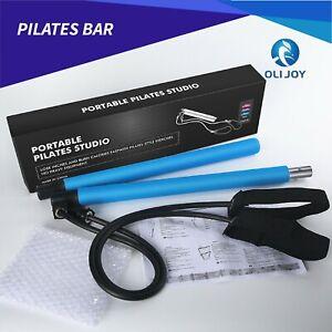 Portable Pilates Stretch Rope Gym Yoga Stick Exercise Bar Pilates Trainer Rope