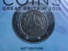 0026HR INDIA REPUBLIC HALF RUPEE 1955(B) BEAUTIFUL