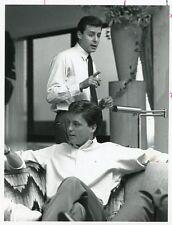 JUDD NELSON BRIAN MCNAMARA BILLIONAIRE BOYS CLUB ORIGINAL 1987 NBC TV PHOTO
