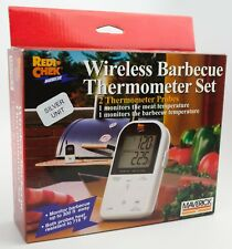 Maverick Meat Thermometer ET-732 Wireless BBQ - White Good Condition