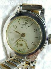 Genova DeLuxe Antimagnetic Wristwatch Swiss made #523