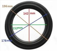 "High Quality 8"" 8inch 196mm Speaker Surround Repair Rubber Edge Replacement A"