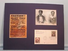 Dred Scott Decision & Underground Railroad & Frederick Douglas First Day Cover