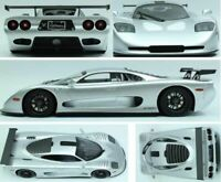 1/18 Scale, Mosler MT 900 - Silver, Top Marques