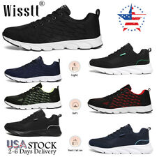 Men's Lightweight Walking Shoes Outdoor Jogging Gym Tennis Shoes Casual Sneakers
