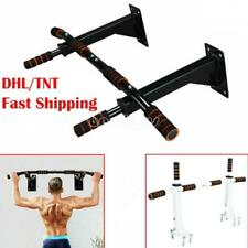 Gym Pull Up Exercise Bar Heavy Duty Ceiling Chin Up Bar Mounted Home Work Out US