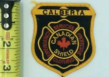 """Vintage Calberta Calgary Alberta Emergency Services Embroidered 3"""" EMT Patch"""