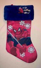 Marvel Spiderman Full Size Christmas Holiday Stocking NWTS!