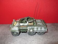 KING & COUNTRY NEUF = BBA066 - US.M20 ARMOURED CAR AMERICAIN + PILOTE