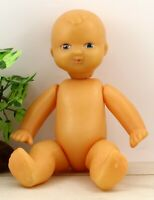 Original Antique plastic baby doll of the USSR (Soviet) Cute baby doll