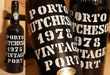 1978er VINTAGE PORT-Hutcheson-OTTIMO STATO-Gnam-gnam ***