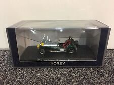 Caterham Super Seven 11983 aluminio Yellow and green 1:43 norev