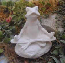 "Latex frog Buddha plaster rapid set cement all mold 4"" x 4"""