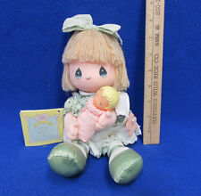 Precious Moments Doll 1989 What a Blessing Baby New Mother Gift Applause Toy
