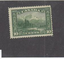 CANADA (MK2937) # 155  FVF-MNH  10cts 1928 MOUNT HURD,BC SCROLL ISSUE CAT $40
