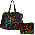 Baggallini Zip Out Traveling Bag Large Expandable Folding Shopping Tote Carry On