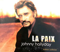 Johnny Hallyday ‎CD Single ‎La Paix - France (VG/VG)