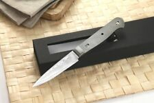 Japanese Damascus Paring Knife Woodworker kit Blank VG-10 Steel 67 Layers 3.5 in