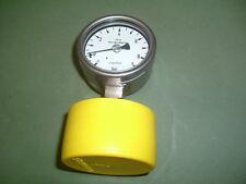 WIKA 990.18 MANOMETRO manometro Sanitary diaframma 9 BAR nuovo in scatola