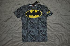 Under Armour Alter Ego Compression BATMAN Shirt 1244399 012 Black AlLL SIZES NWT