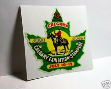 Calgary Exhibition & Stampede Canada Vintage Style Travel Decal / Vinyl Sticker