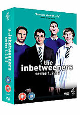 The Inbetweeners Series 1-3 Box Set (DVD) NEW/SEALED Channel 4 Comedy