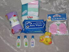 Baby Shampoo Blanket Wipes Ducks Washcloths Hat New!