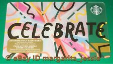 "STARBUCKS CANADA SERIES GIFT CARD ""CELEBRATE 2017"" NO VALUE NEW HOLIDAY 48 #6142"