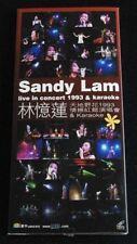 Sandy Lam Live in Concert 1993 & Karaoke 2 VCD s in set