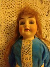 Antique 12 inch Alma Doll. 13/0 Original clothing. Leather body