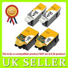 4 Ink  Kodak 30 XL Black & Colour Replace for ESP C110 C310 C315 Printer