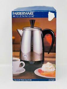 Farberware Millennium Superfast Fully Automatic 2-8 Cup Coffee Percolator FCP280
