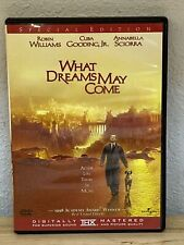 What Dreams May Come (Dvd, 2003) Robin Williams from 1998 - Like New!