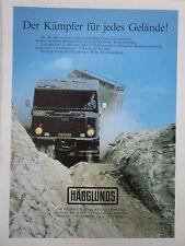10/1984 PUB HAGGLUNDS & SONER SWEDEN BV 206 CHENILLE AMPHIBIE ORIGINAL GERMAN AD