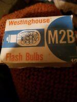 Vintage Lot of 6 Westinghouse Flash Bulbs M2B