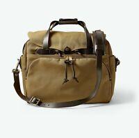 Filson Tan Rugged Twill Padded Computer Bag Size L 5524