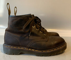 Doc Martens - Vintage 101 US Men's Size 8 Yellow Stitch Made In England.