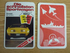 Auto Quartett Die schnellsten Sportwagen ASS 3178/1