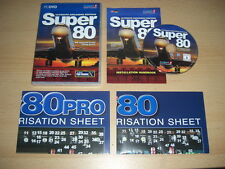 SUPER 80 Ultimate Airliners Edition Pc DVD Rom Add-On Flight Simulator Sim X FSX