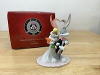 Vintage 1999 Goebel I Do Doc Looney Tunes Bride & Groom Porcelain Bugs Bunny