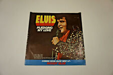 Elvis Presley - Pledging My Love 45RPM Picture Sleeve - *NO RECORD*