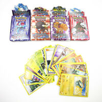 25pcs Assorted Trading Paper Cards for POKEMON Card as Children Kids Games Cards