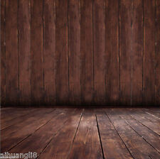 3X5FT Retro Wood Floor Vinyl Photography Backdrop Background Studio Props FG273