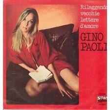 Gino Paoli Lp Vinile Rileggendo Vecchie Lettere D'Amore / Durium Start Nuovo