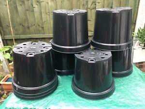 Professional  Aeroplas 4lt Recyclable (PP5) Heavy Duty Black Nursery Pot